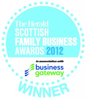 "Macdonald Henderson wins The Herald ""Leading Advisor to Family Business"" Award 2012  - Click for larger version"