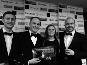 Macdonald Henderson's Corporate Team Wins Team of the Year 2016 - Click for larger version