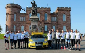 Macdonald Henderson Sponsors North 500 Charity Cycle - 10th May 2018 - Click for larger version