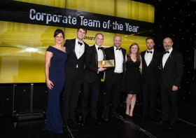 Macdonald Henderson Wins Corporate Team of the Year 2018 – 30th November 2018 - Click for larger version